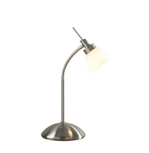 Agean Touch Table Lamp Satin Chrome TXAGE4046-17